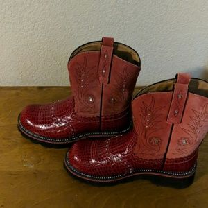 Western fatbaby boots